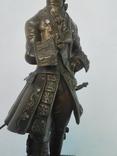 Бронзовая скульптура короля Людовика XV фото 3