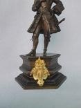 Бронзовая скульптура короля Людовика XV фото 4
