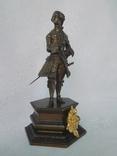 Бронзовая скульптура короля Людовика XV фото 5