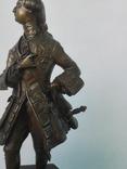 Бронзовая скульптура короля Людовика XV фото 8