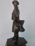 Бронзовая скульптура короля Людовика XV фото 9