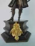 Бронзовая скульптура короля Людовика XV фото 12