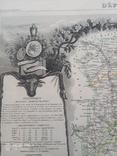 Лион. 19 век. Карта с картушами, фото №4