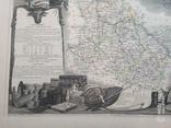 Лион. 19 век. Карта с картушами, фото №6