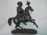 Бронзовая скульптура короля Франции Генриха IV