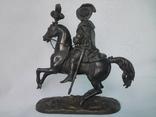 Бронзовая скульптура короля Франции Генриха IV фото 2