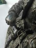 Бронзовая скульптура короля Франции Генриха IV фото 4