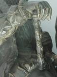 Бронзовая скульптура короля Франции Генриха IV фото 5