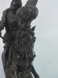 Бронзовая скульптура короля Франции Генриха IV фото 6