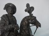 Бронзовая скульптура короля Франции Генриха IV фото 9