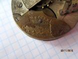 Часовой механизм карманных часы R.I.F Co., фото №5