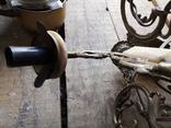 Люстра бронза мрамор гранит винтаж СССР, фото №4