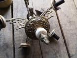 Люстра бронза мрамор гранит винтаж СССР, фото №6