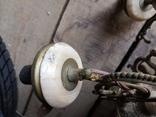 Люстра бронза мрамор гранит винтаж СССР, фото №9