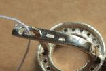 Серьги BVLGARI (Булгари) серебро, золото, фото №3