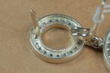 Серьги BVLGARI (Булгари) серебро, золото, фото №10