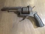 Шпилечный 7мм карманный револьвер системы Лефоше, фото №12