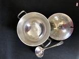 Посуда для вторых блюд, серебрение на бронзе, Англия, фото №3