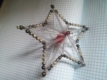 Старая елочная игрушка: Звезда. Цекляриус., фото №13