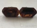 Запонки из янтаря 875, фото №2
