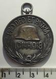 Венгрия медаль памятная  участнику ПМВ 1914-18, фото №2