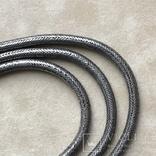 Старинное серебреное колье 135 грамм в этно стиле, фото №6