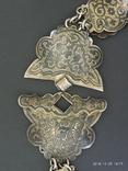 Пояс и браслет Серебро 84* Кавказ фото 7