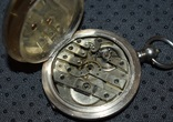 Часы Qualite Boutte серебро 84 проба крупные 121 грамм, фото №11