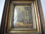 Старинная рисованная миниатюра ( Масло , Холст ) Европа, фото №9