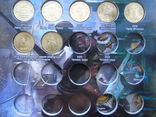 10 рублей ГВС  -57шт в капсульном альбоме, фото №6