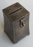 Копилка, серебро 84 пробы, фото №2
