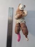 Елочная игрушка СССР медведь 1920 - 1930 гг, фото №9