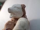 Елочная игрушка СССР медведь 1920 - 1930 гг, фото №10