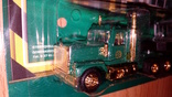 Машинка грузовик эвакуатор + вагон, фото №3