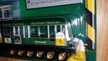 Машинка грузовик эвакуатор + вагон, фото №5