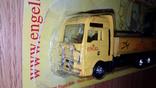 Машинка грузовик манипулятор + прицеп, фото №3