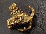 Рыбная Оргия бронза большая коллекционная миниатюра, фото №8