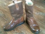 Marcom (Италия) кожаные сапоги на меху разм.40.5, фото №3