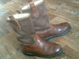 Marcom (Италия) кожаные сапоги на меху разм.40.5, фото №4