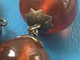 Янтарные бусы, фото №7