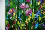 Літні квіти. Олія. Полотно 30х40см. 2019р. Височинська Т.Г., фото №5