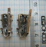 Серебряные Серьги Сережки Цветы Английская Застежка Замок 925 проба Серебро 064 фото 5