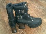 Riverstone - фирменные кожаные ботинки разм 41., фото №9