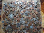 Супер- Гора монет с нашими и зарубежными (615 штук.) фото 1