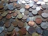 Супер- Гора монет с нашими и зарубежными (615 штук.) фото 2