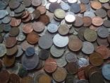 Супер- Гора монет с нашими и зарубежными (615 штук.) фото 3