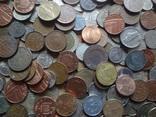 Супер- Гора монет с нашими и зарубежными (615 штук.) фото 4