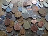 Супер- Гора монет с нашими и зарубежными (615 штук.) фото 5