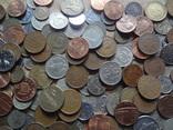 Супер- Гора монет с нашими и зарубежными (615 штук.) фото 6