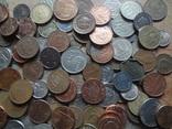 Супер- Гора монет с нашими и зарубежными (615 штук.) фото 7